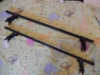 VW Polo roof rack bars, used but in good condition