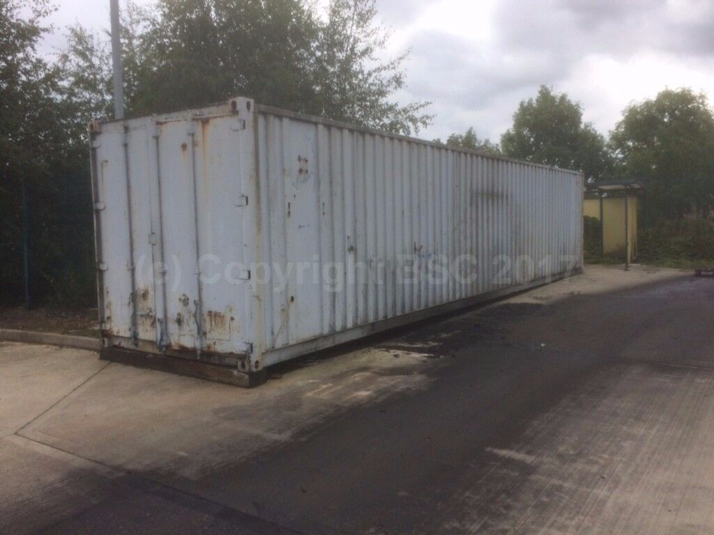 used 40ft shipping container for sale in Birmingham - ideal for storage use