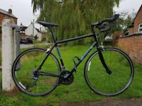 Beautiful 56cm frame road bike. Jamis Quest, 27 gears. Great condition. Suit 5ft11+.