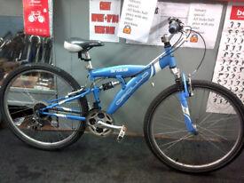 Apollo entise dual suspension mtb bicycle