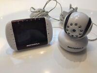 Motorola Baby Monitor with camera and screen