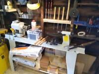 Woodturning lathe wood turning lathe