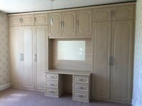 Fitted Wardrobes and Dressing Table - FREE