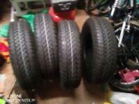 Van trailer caravan tyres
