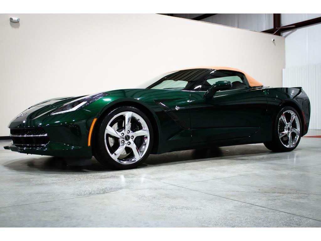 2014 Green Chevrolet Corvette Convertible 3LT | C7 Corvette Photo 7