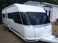 Hobby Caravan 560 Premium (2013) Single Axle, 4 Berth. Like Tabbert/Fendt