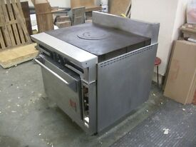 Wolf Gas Oven and Hot plate with Wok options