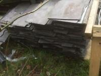 "reclaimed natural slate tiles for sale 10""x16"""