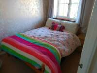 King size bed - double matress