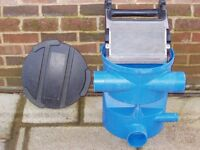Rainwater harvesting leaf filter (3P Volume Filter VF1 106)