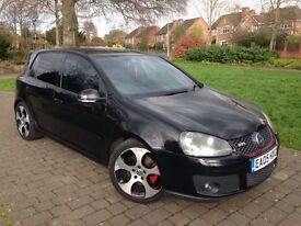 "2005 VW Golf 2.0 GTI 5dr #18"" MONZA ALLOYS #FULL HEATED LEATER SEATS #FSH TIMING BELT WATER PUMP"