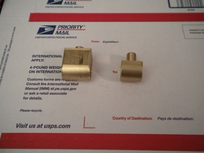 """10"""" Atlas lathe cross feed and compound nut set"""