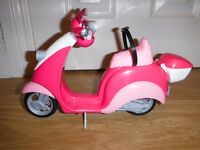 Barbie Glam Scooter New Condition