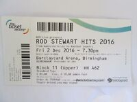 2 x TICKETS for Rod Stewart in Birmingham 02/12