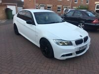 BMW 325D M SPORT WHITE (267BHP) LOW MILEAGE
