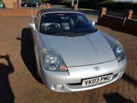 Toyota MR2 Silver Roadster 1.8 VVT-i 2003 Mk 3, 96.6K - £700 just spent on it!