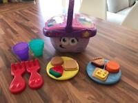 Leapfrog picnic basket toy