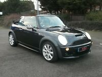 MINI Convertible 1.6 Cooper S 2dr£4,995 p/x welcome JOHN COOPER WORKS BODY KIT