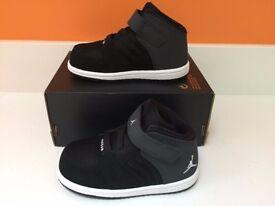 Brand new Kids Nike Jordan's 1 Flight 4 Prem BT trainers Sizes 6.5 / 7.5 / 8.5 UK infant