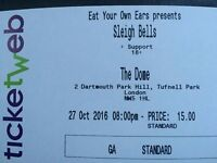 Two Tickets for Sleigh Bells at The Dome, Tufnell Park, London