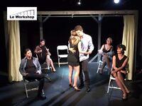 Drama Class in French - Cours de theatre en francais pour adultes a London Bridge