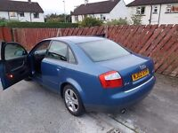 Audi A4 2002 2.0 with LPG conversation Full years MOT