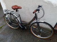 ladies viking hybrid city commuting bike Bristol UpCycles ju