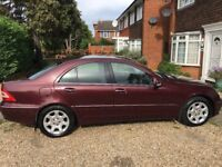 Low mileage Mercedes C180 Kompressor Elegance for sale