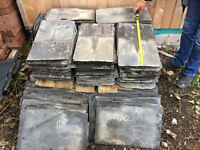 RECLAIMED ROOFING SLATE (CORNISH) SIZE 19 X 12