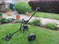 Junior Golf Trolley - only used twice - Age up to size 11