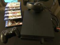 PS4 500gig 6 games excellent condition