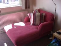 pink Sitting Room Chair/Lounger