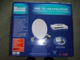 Satellite kit Tevion complete hd kit