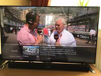 *AS NEW* Boxed LG 49UF695V UHD 4k SMART TV WITH Wifi, Freeview HD and web browser / apps and catchup