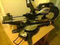 macallister 1800 w laser slide mitre saw