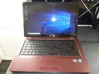 HP G62 laptop for sale. AMD Graphics. Phenom Processor. 4GB RAM. 500GB HDD. HDMI. WIN 10