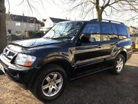 53 Reg Mitsubishi Shogun 3.2 DID Warrior 7 SEAT TURBO DIESEL.not Vouge discovery pajero terrano ml