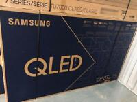 Brand new sealed smart tv Samsung QLED 75 inch Q60T 2020/2021
