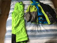 Quicksilver and Nevica Ski Clothing