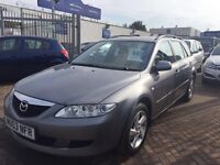 **REDUCED**2003 (53) MAZDA 6 ESTATE DIESEL FULL HISTORY IDEAL FAMILY CAR LONG MOT DRIVES SUPERBLY !!