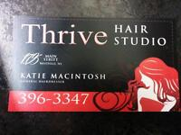 Hair appointments available !!