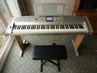 Yamaha Portable Grand DGX 505 Electric Piano