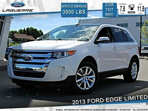 2013 Ford Edge **LIMITED*AWD*CUIR*TOIT* NAVI*CAMERA*A/C**