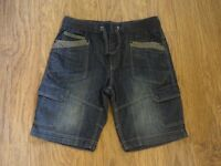 Mens 34W denim shorts