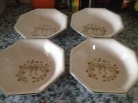 Eternal Beau 6 Side Plates6 Dessert Bowels 6 Large Plates and a few other bits in the box