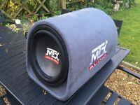 MTX AUDIO 12inch 450w Amplified Bass Speaker Subwoofer