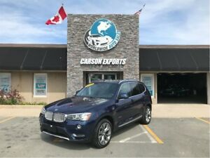 2015 BMW X3 LOOK DIESEL W/PANO ROOF! $235.00 BI-WEEKLY+TAX!