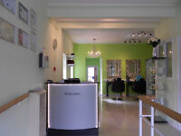 HAIR, BEAUTY AND TANNING SALON WITH LONG TERM LEASE FOR SALE £40.000