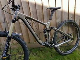 2015 marin attack trail 160mm enduro bike. In fantastic condition