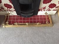 Large Brass Fender
